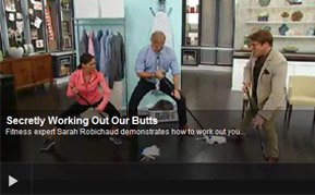 Secret Butt Workout Steven and Chris on CBC